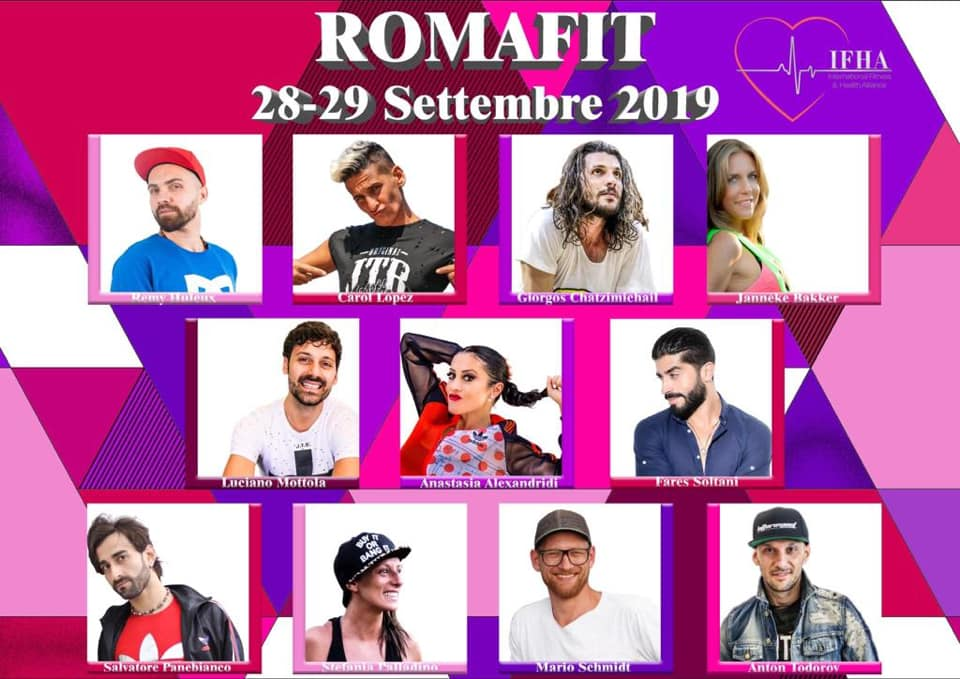 Trainers RomaFit 2019
