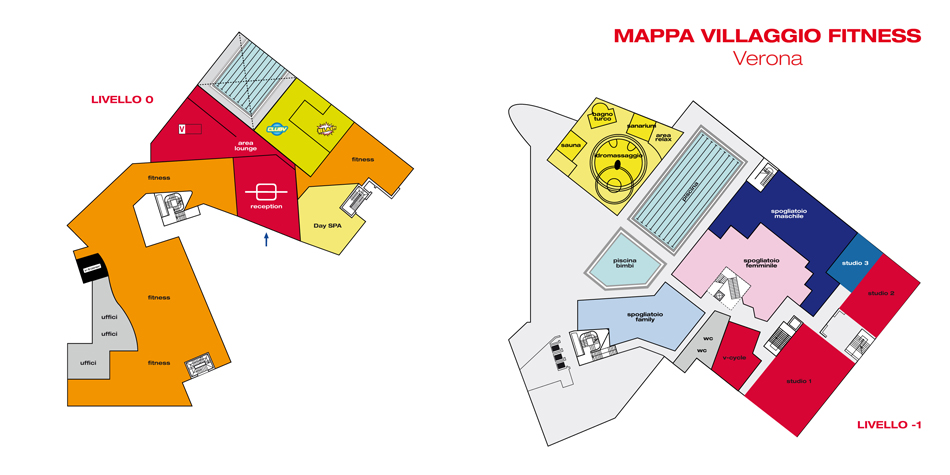 Virgin Active Verona Map